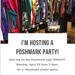 Other - I'm co-hosting the Wardrobe Goals Posh Party 2nite